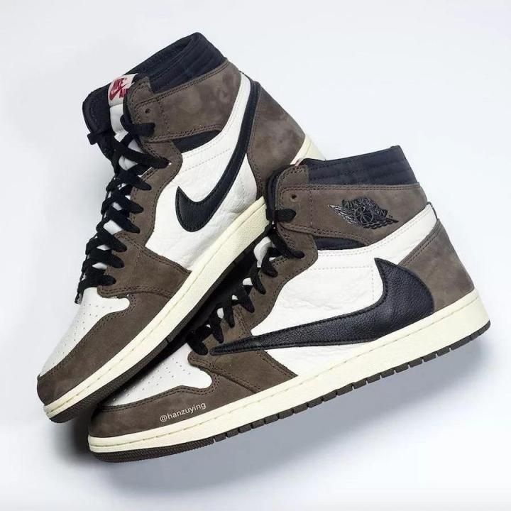Authentic Jordan 1 Retro Travis Scott